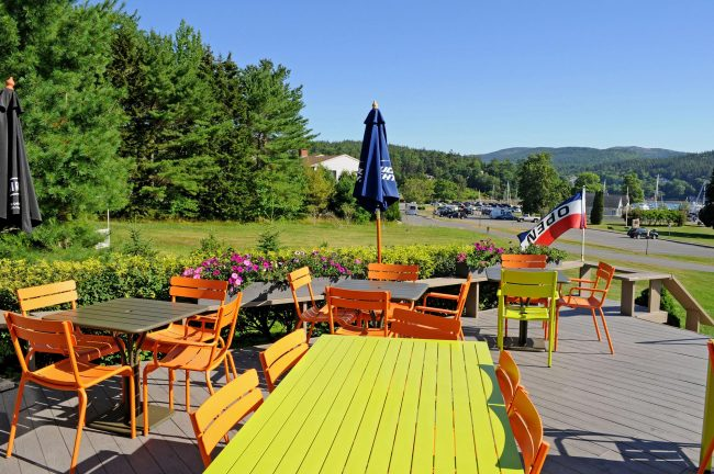 Kimball Terrace Inn deck